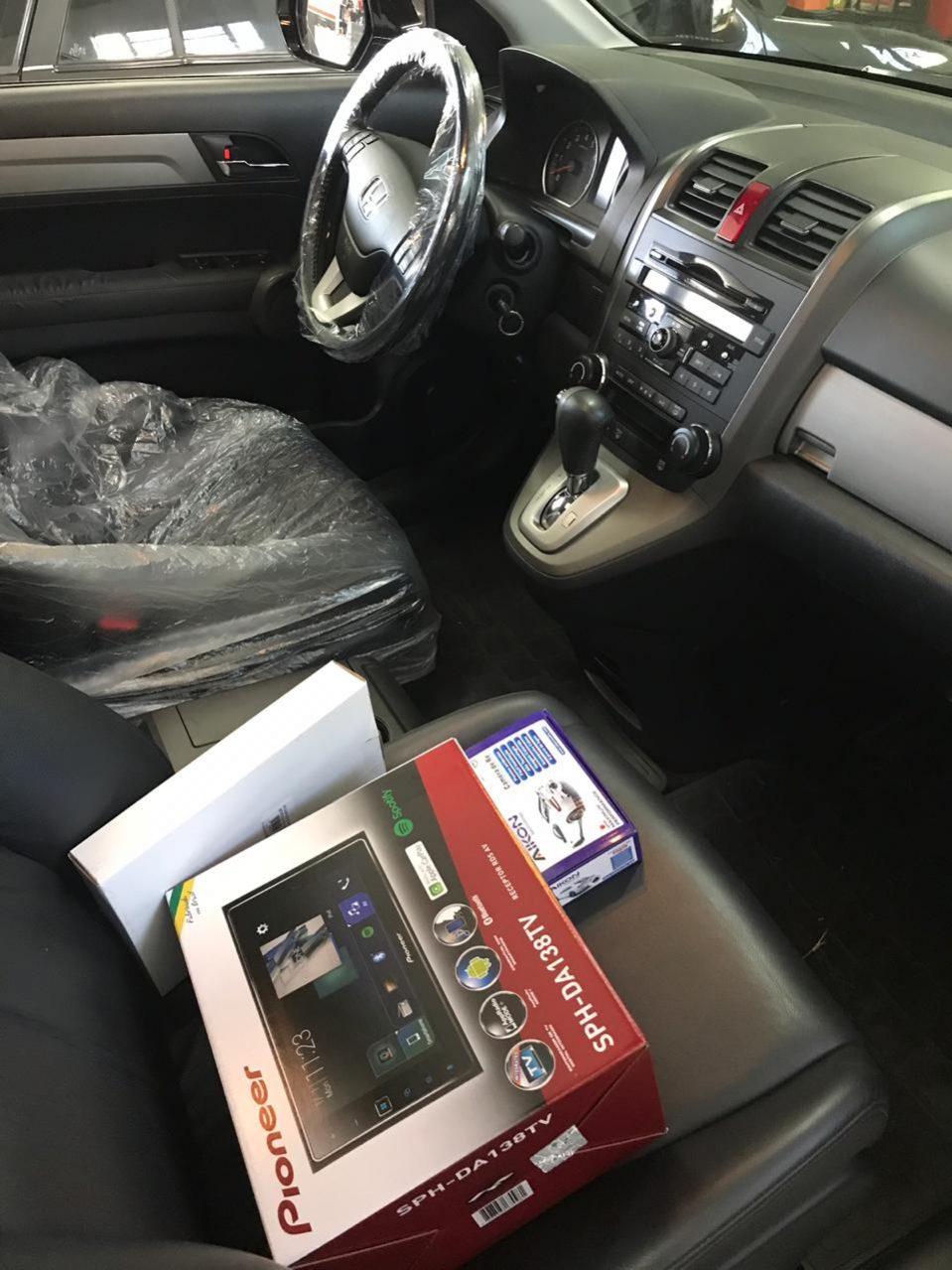 Talento-automotivo-cascavel-pr-crv-interior-pioneer-dvd